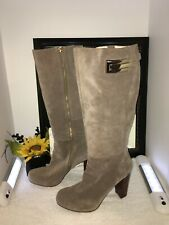 Nine West Genuine Suede Tall Boots Size 12M