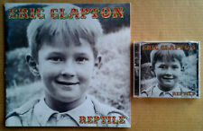 "Eric Clapton - Reptile - 11"" X 11"" Tour Book - 2001 - 36 Pages + Sealed Cd"