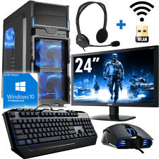 Gamer PC Komplett-Set AMD AMD A10 9700 4X3,8 GHz - AMD Radeon R7 - Gaming Turbo!