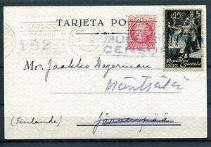 1938.ESPAÑA.TARJETA Postal.ed. 687.ED.773.RARA