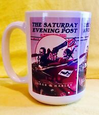 THE JOKER SATURDAY EVENING POST COVER - ON A BIG 15OZ MUG