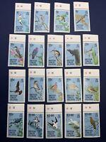 1985 BRITISH VIRGIN ISLANDS #560-578 MNH OG WITH TABS COMPLETE SET