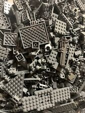 lego bulk LOT BRICKS PLATES AND PIECES 1/4LB (DARK GRAY)