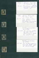 À VOS OFFRES ! [147] CERES lot de 4 timbres n°3 dt SUP bord de feuille nuances