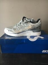 ASICS GEL-Lyte III Athletic Shoes Size 11.5 Silver HL504.9393 a7601e1413