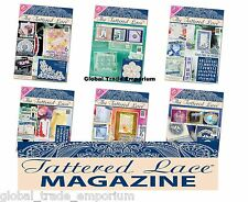 BRAND NEW Tattered Lace Magazines - ALL ISSUES 1-50 With FREE DIES & FREE P&P!