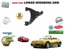 FOR MG MGTF 1.8 2002--> NEW FRONT AXLE RIGHT SIDE LOWER WISHBONE SUSPENSION ARM