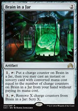 MTG BRAIN IN A JAR FOIL EXC - CERVELLO IN BARATTOLO - SOI - MAGIC