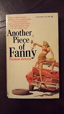 """Norman Jackson, """"Another Piece of Fanny, """" 1968, Lancer 73-768, VG 1st"""
