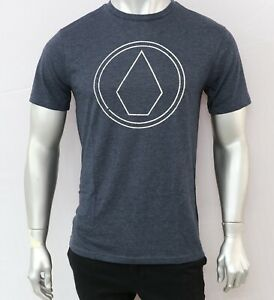 VOLCOM Mens Printed T Shirt - GREY- SIZE - S,M & L - NEW