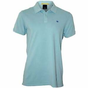 Scotch & Soda Classic Pique Men's Polo Shirt, Pool Breeze