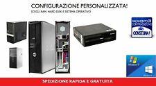PC COMPUTER FISSO USATO ECONOMICO RICONDIZIONATO GARANTITO CORE 2 DUO RAM E HDD