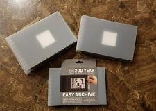 200 YEAR EASY ARCHIVE PHOTO ALBUM ACID LIGNIN FREE 24  4X6  PRINTS