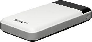Denver Powerbank PBA 12000 mit 2 USB-Anschlüssen 5V 2A 12.000 mAh LED