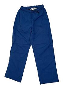 Columbia Men's Medium PFG Rain Wind Pants Blue Performance Fishing Gear