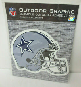 DALLAS COWBOYS OUTDOOR GRAPHIC DURABLE OUTDOOR ADHESIVE FLEXIBLE ALUMINUM NEW