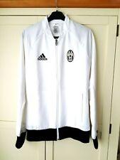 Juventus Jacket. Adults Small. Official Adidas. White Football Coat Long Sleeves