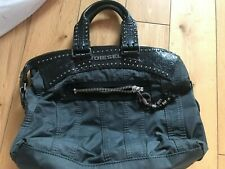 DIESEL Medium Size Bag Black Used  Vintage
