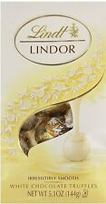 Lindt Lindor White Chocolate Truffles, 5.1 oz $8.79 FREE SHIPPING