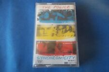 "THE POLICE ""SYNCRONICITY"" M,C K7 TAPE 1983 A&M RECORDS SEALED"