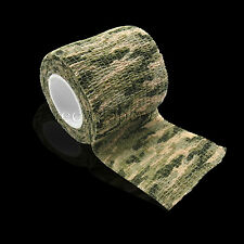 5cmx4.5m Camo Camouflage Stealth Waterproof Tape Camping Rifle/Gun Wrap Grass