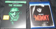 New! The Mummy Blu-Ray + Digital HD w/ Glow In Dark Slipcover - Boris Karloff
