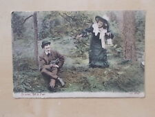 VINTAGE 1905 POSTCARD - SO NEAR YET SO FAR - JWS 2645