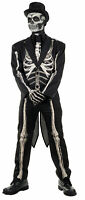 Bone Chillin Adult Men's Costume Skeleton Tuxedo Suit Halloween Underwraps