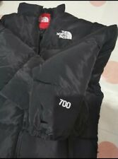 North Face 700 Nuptse Jackets in Size: SMLXL available. Black, Khaki, Pink & Red