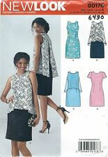 New Look 6430 Misses' Dresses  10 to 22     Sewing Pattern