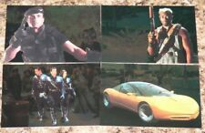 . Demolition Man 1993 by Skybox. 4 foil INSERT set in nm/mint condition.