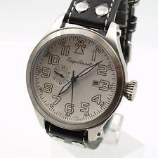 Armbanduhr, XXL Automatikuhr Herrenuhr Engelhardt  Kal.8217 Miyota Leder