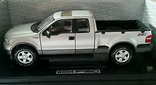 "1:18 FORD f-150 fx4 ""PICK UP-Argento 2004"" in PMA OVP *** very hard to find ***"