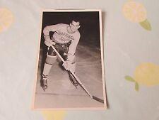 Original Richard KOLISNYCK Harringay Racers 1950's Ice Hockey Photo