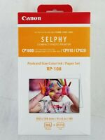 Canon RP-108 Color Ink/Paper Set, Compatible with Selphy CP910 & CP820
