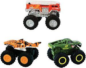 World's Smallest Hot Wheels Monster Trucks Series 2 Bundle Set of 3