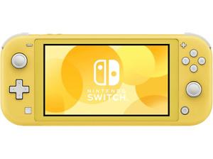 Consola Portátil Nintendo Switch Lite. Color Amarillo. Controles integrados