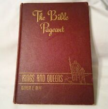 VTG 1948 Book Vol.3 Religion The Bible Pageant Children's Kings and Queens