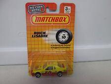 Matchbox Buick LeSabre Yellow MB10