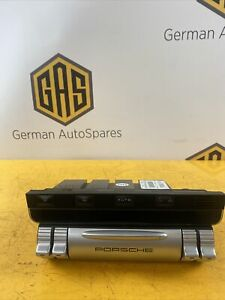 Porsche Cayenne S 955 Heater A/c Heater Control Unit Panel 7L5907040AK