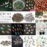 100Pcs Mixed Conch Shell Animal Flowers Beads Charm Pendant DIY Jewelry Making-