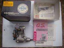 OS FS20 Glow. motore quattro tempi. raro esempio immacolato.
