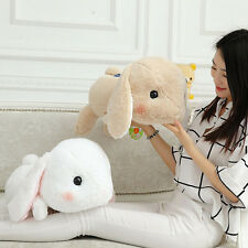 "18.89"" Cute holland lop bunny rabbits Plush Doll Toy Stuffed animals kids gifts"
