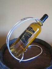 Porte bouteille verseur - verse vin en métal argenté