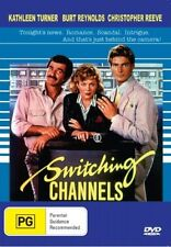 SWITCHING CHANNELS Kathleen Turner Burt Reynolds Chris Reeve DVD R4 NEW - PAL