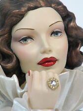 """Cameo Girls Head Vase Judith 1932  """"Satin Doll""""  NIB FREE SHIPPING"""