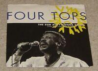 """Four Tops The Sun Ain't Gonna Shine 7"""" Single - VG+"""