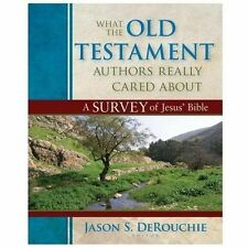 What the Old Testament Authors Really Cared About : A Survey of Jesus' Bible...