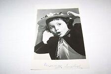 Vintage SIGNED photo #657 - ACTRESS - BUNNY LEUBEL