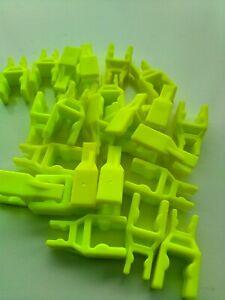 Micro K'Nex Yellow Reducer Clips x 25 DW2133 Job Lot Educational Christmas